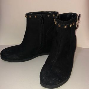 """Girls """"Michael Kors"""" wedge ankle boots"""